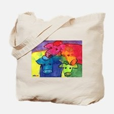 Wet Cows Tote Bag