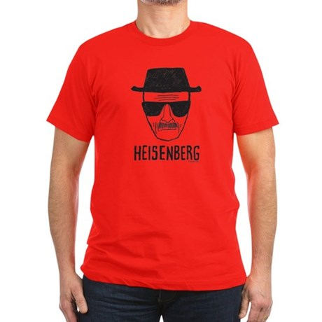 Heisenberg Men's Fitted T-Shirt (dark)