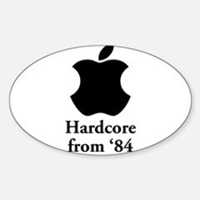 Hardcore from '84 Decal