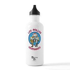 Los Pollos Hermanos Sports Water Bottle