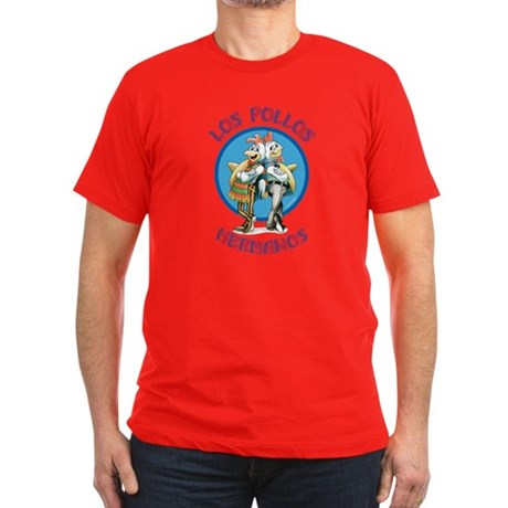 Los Pollos Hermanos Men's Fitted T-Shirt (dark)
