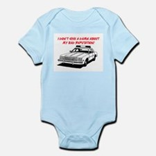 DON'T GIVE A DAMN Infant Bodysuit