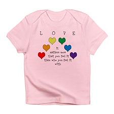 Rainbow Love Infant T-Shirt