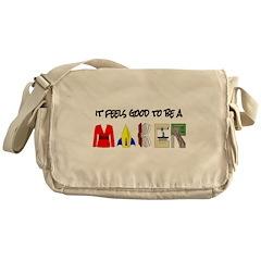 It feels good to be a MAKER-lt Messenger Bag