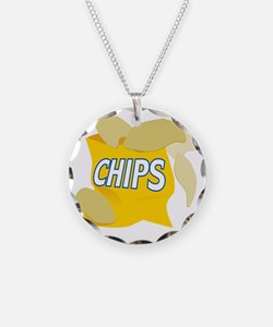 bag of potato chips Necklace