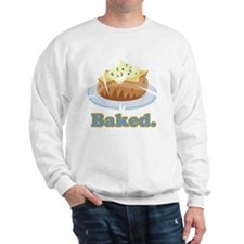 baked potato Sweatshirt
