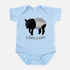 Malayan Tapir Infant Bodysuit