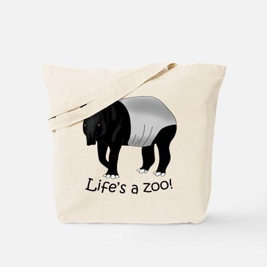 Malayan Tapir Tote Bag