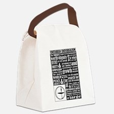 Unitarian Universalist Principles Canvas Lunch Bag
