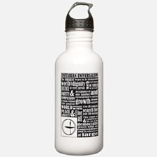 Unitarian Universalist Principles Water Bottle