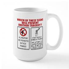 Gun Control Ceramic Mugs
