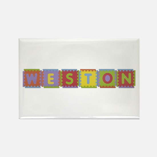 Weston Foam Squares Rectangle Magnet