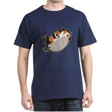 Flying Cat - Calico T-Shirt