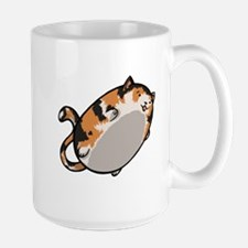 Flying Cat - Calico Mug