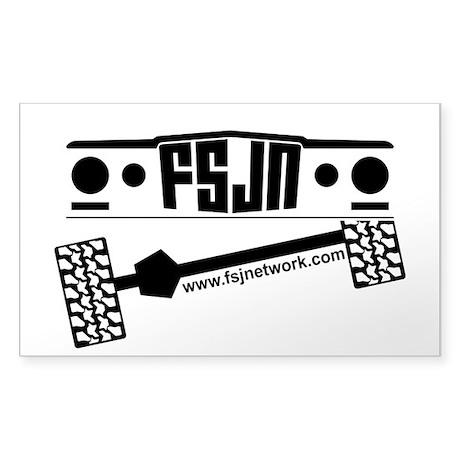 FSJ Network Sticker