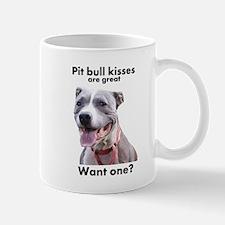 Pit Bull Kisses Mug
