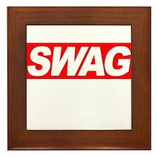 Swag Framed Tile