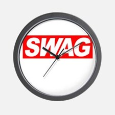 Swag Wall Clock