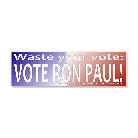 Ron Paul 2016 Car Magnet 10 x 3