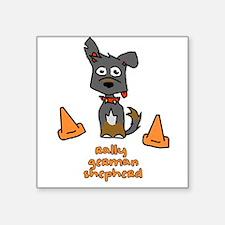 "rallyshpherd.png Square Sticker 3"" x 3"""