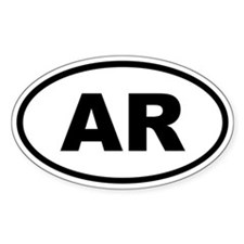 Arkansas AR Decal