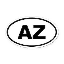 Arizona AZ Oval Car Magnet