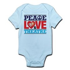 Peace Love and Theatre Body Suit
