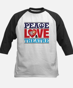 Peace Love and Theatre Baseball Jersey
