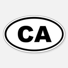 California CA Decal
