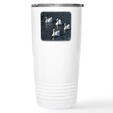 Emden Geese 9P51D-113 Travel Mug
