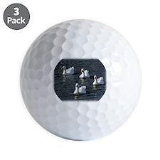 Emden Geese 9P51D-113 Golf Ball