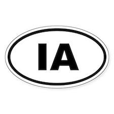 Iowa IA Decal