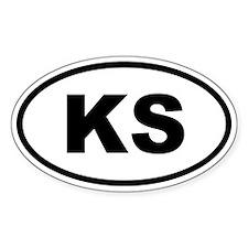 Kansas KS Decal