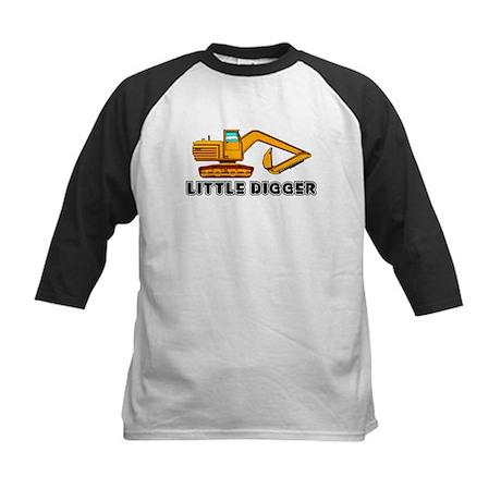 Little Digger Kids Baseball Jersey