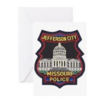 Jefferson City PD Greeting Cards (Pk of 10)