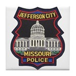 Jefferson City PD Tile Coaster