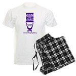 March on Springfield Lincoln - Purple Pajamas