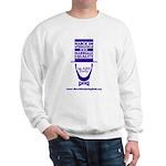 March on Springfield Lincoln - Purple Sweatshirt