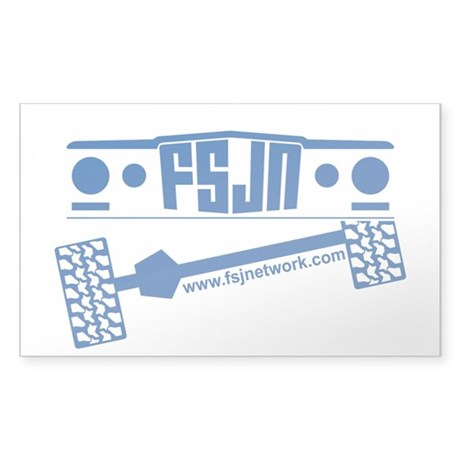 FSJ Network Sticker (Blue)