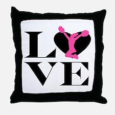 Love Cheer Throw Pillow