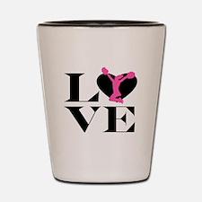 Love Cheer Shot Glass