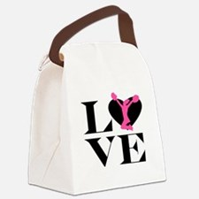 Love Cheer Canvas Lunch Bag