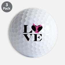 Love Cheer Golf Ball