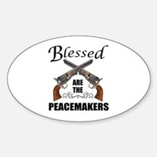 Blessed Are The Peacekeepers Decal