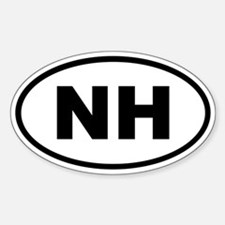 New Hampshire NH Decal