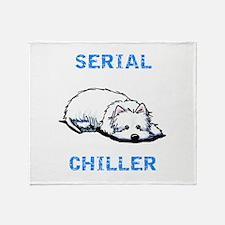 Westie Serial Chiller Throw Blanket