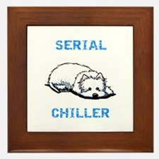 Westie Serial Chiller Framed Tile