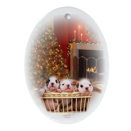 Bullies Keepsake/Oval Ornament