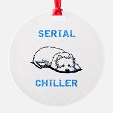 Westie Serial Chiller Ornament