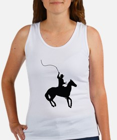 Horseman with Whip Women's Tank Top